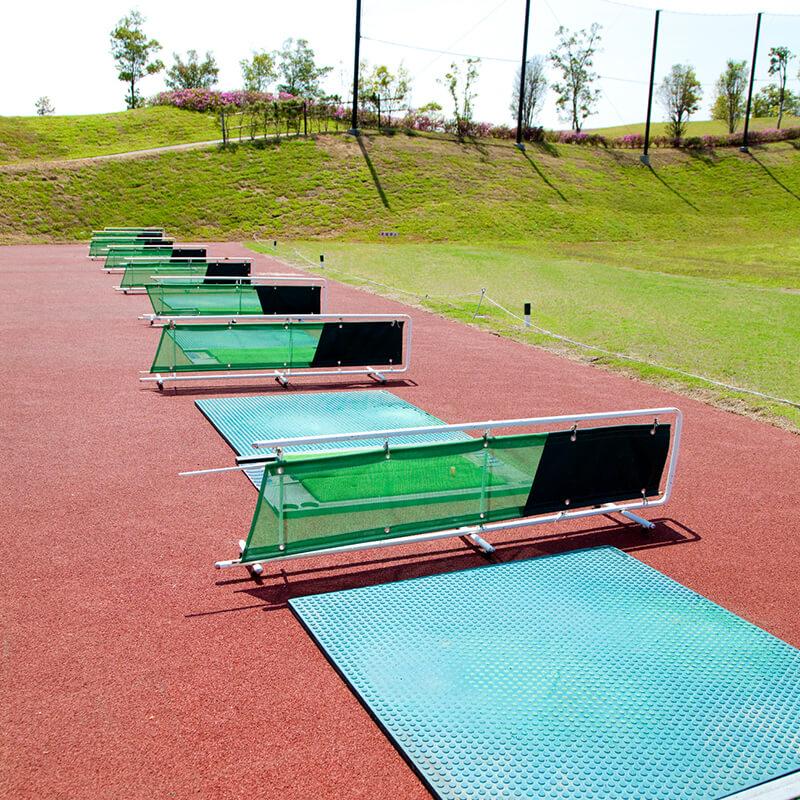 画像:ゴルフ練習場